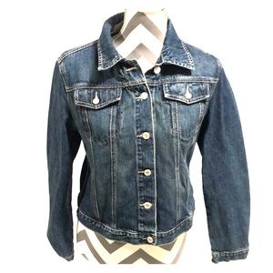 GAP Denim Blue Jean Jacket Size Small
